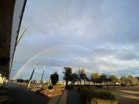 綺麗な🌈虹